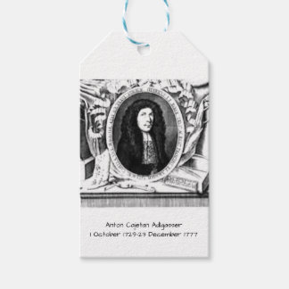 Anton Cajetan Adlgasser Cadeaulabel