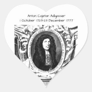 Anton Cajetan Adlgasser Hart Sticker
