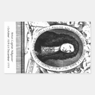 Anton Cajetan Adlgasser Rechthoekige Sticker