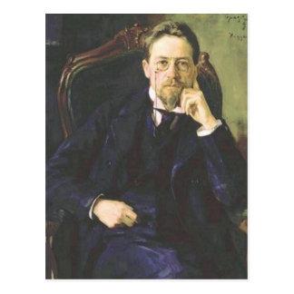 Anton Chekhov 1898 Briefkaart