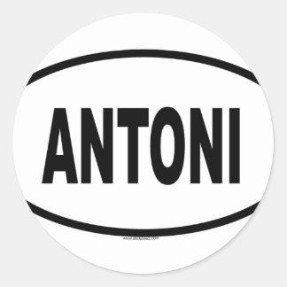 ANTONI RONDE STICKERS