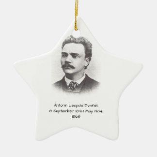 Antonin Leopold Dvorak 1868 Keramisch Ster Ornament