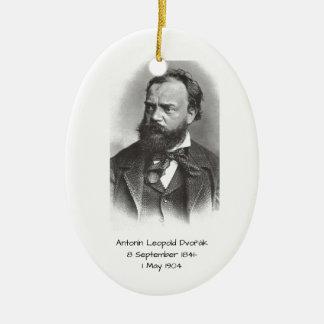 Antonin Leopold Dvorak Keramisch Ovaal Ornament
