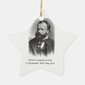 Antonin Leopold Dvorak Keramisch Ster Ornament