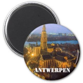 Antwerpen Ronde Magneet 5,7 Cm