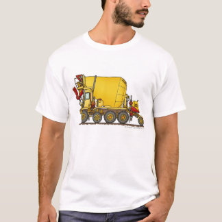 Ap van de Bouw van de Vrachtwagen van de Lossing T Shirt