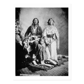 Apache Belangrijkste Antonio Maria met zijn Briefkaart