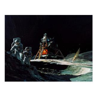 Apolloprogramma - het Concept van de Kunstenaar Briefkaart