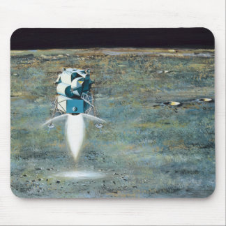 Apolloprogramma - het Concept van de Kunstenaar Muismat