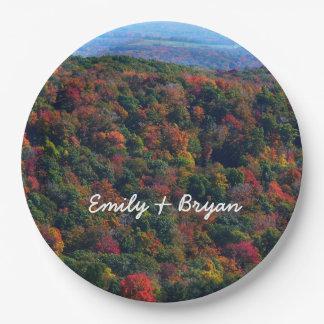 Appalachian Bergen in de Fotografie van de Natuur Papieren Bordje