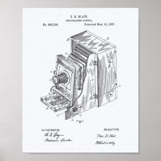 Apparaten 1887 van de camera de Kunst van het Poster