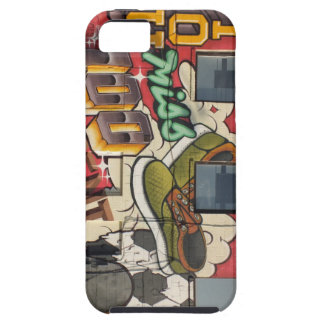 appel iphone 4 4s graffitihoesje van de dekkingsbe tough iPhone 5 hoesje