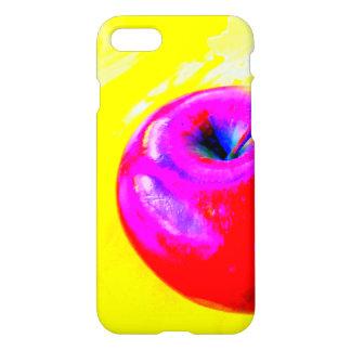 appel op geel telefoonhoesje iPhone 8/7 hoesje