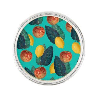 appelen en citroenenwintertaling reverspeldje