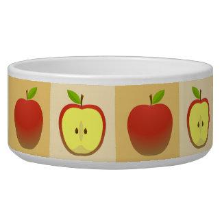 Apple en een Half patroon Voerbakje