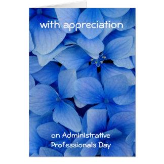 Appreciatie voor Administratieve Beroeps Kaart