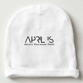 April is de Autistische Maand van de Voorlichting Baby Mutsje