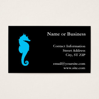 Aquatische Seahorse Visitekaartjes
