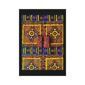 Arabische Deur Canvas Print