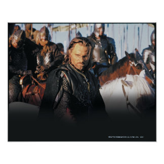 Aragorn op Horseback Poster