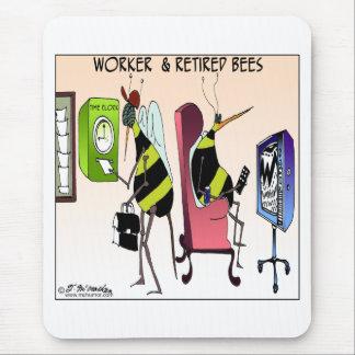 Arbeider en Teruggetrokken Bij Muismat