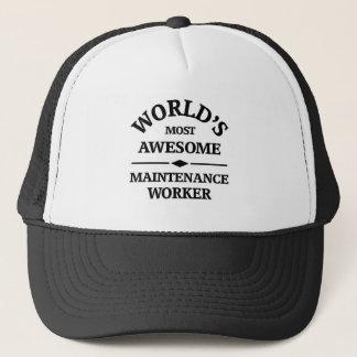 Arbeider van het Onderhoud van de wereld de meest Trucker Pet