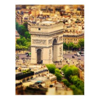 Arc DE l'Étoile Triomphe DE, Parijs, Frankrijk Briefkaart