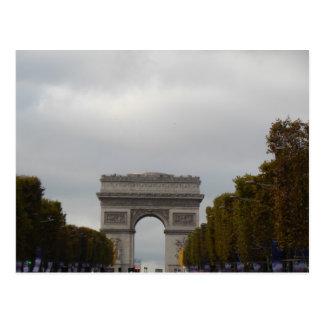 Arc DE Triomphe Champs Elysees Parijs Frankrijk Briefkaart