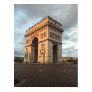 Arc DE Triomphe Postcard Briefkaart