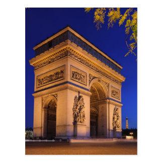 Arc_Triomphe Briefkaart