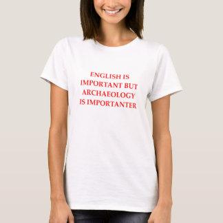 archeologie t shirt