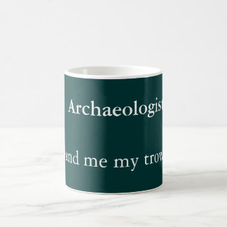 Archeoloog Koffiemok