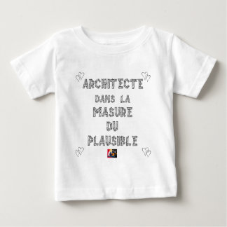 ARCHITECT, in MASURE VAN PLAUSIBEL Baby T Shirts