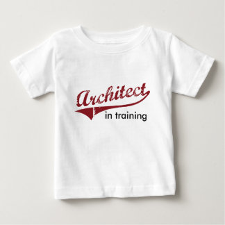 Architect in Opleiding Baby T Shirts