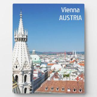 Architectuur in Wenen, Oostenrijk Fotoplaat