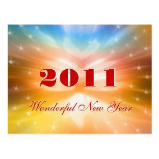(archivistisch) Prachtig Nieuwjaar 2011 - Briefkaart
