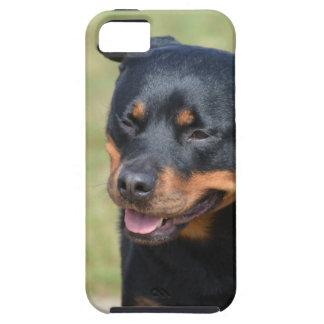 Argelooze Rottweiler Tough iPhone 5 Hoesje