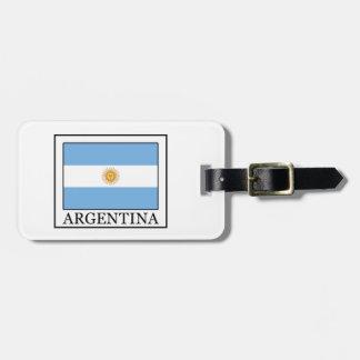 Argentinië Kofferlabel