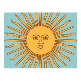 """Argentinië """"Sol DE Mayo """" Briefkaart"""
