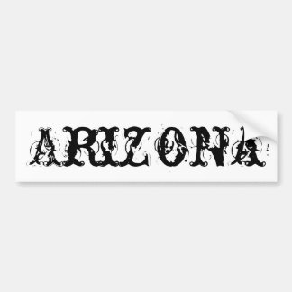 Arizona Bumpersticker