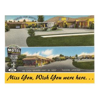 Arizona, het Motel van de Herberg van de Kromme Briefkaart