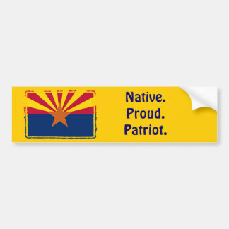 Arizona - Inwoner. Trots. Patriot. De Sticker van