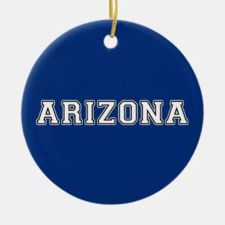 Arizona Rond Keramisch Ornament