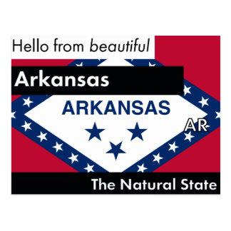 Arkansas de Natuurlijke Staat Briefkaart