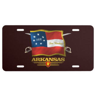 Arkansas Deo Vindice Nummerplaat