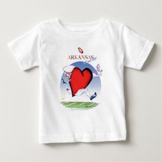 Arkansas hoofdhart, tony fernandes baby t shirts