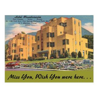 Arkansas, Hotel Mountainaire Briefkaart