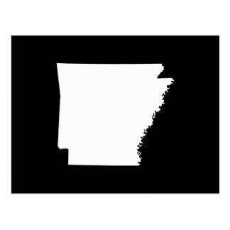 Arkansas in Wit Briefkaart