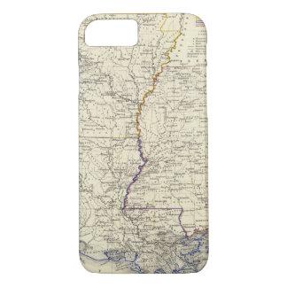 Arkansas, Louisiane en de Mississippi iPhone 7 Hoesje