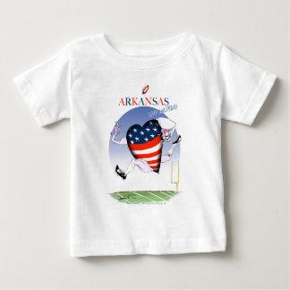 Arkansas luide en trotse, tony fernandes baby t shirts